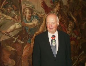 Didier Sicard, commandeur de la Légion d'honneur