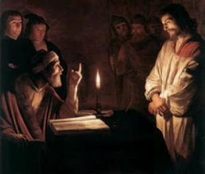 Gerrit van Honhorst : Le Christ devant Caïphe. National Gallery, Londres.