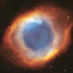 Nébuleuse de l'Hélice communément appelée OEil de Dieu. Photo prise par le satellite Hubble.