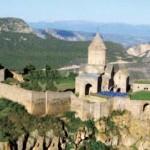 Monastère de tateva en arménie. Photo prise le 1er janvier 1980 © dreamstime.
