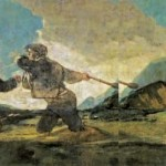 Francisco de Goya : Duel au garrot . Madrid, Musée national du Prado. Photo Wikimedia Commons