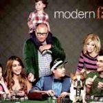 Affiche de la série télévisée américaine Modern Family .